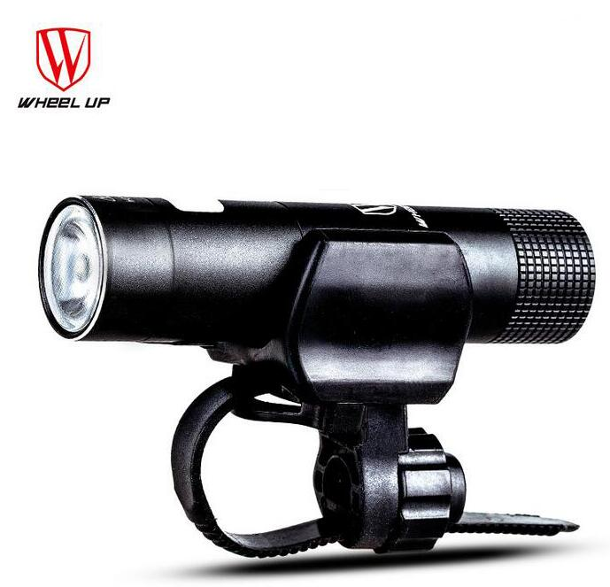 <font><b>WHEEL</b></font> UP Bike Light Torch Front Headlights Handlebar Bicycle <font><b>Lamp</b></font> USB Rechargeable Led Lights Battery Flashlight MTB Accessories