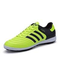 TF Soccer Cleats Cho Người Đàn Ông Và Trẻ Em chuyên nghiệp Người Lớn Football Boots Ngoài Trời Trẻ Em Huấn Luyện Viên Thể Thể Thao Thanh Niên Sneakers