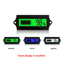 цены 12V24V36V48V60V72V84V LED Lead Acid Storage Battery Tester Battery Indicator Gauge Battery Level Monitor For Marine Motorcycle