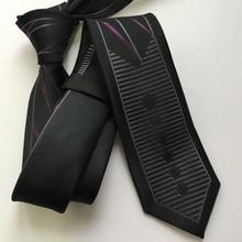Дизайнерский Повседневный облегающий галстук мужской модный тонкий галстук с тип личности, чтобы соответствовать рубашке