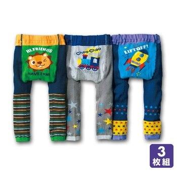 Baby's Animal Printed Cotton Pants 4