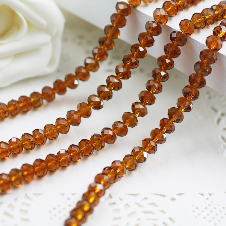 Dark amber Color 2mm,3mm,4mm,6mm,8mm 10mm,12mm 5040# AAA Top Quality loose Crystal Rondelle Glass beads wholesale light blue color 5000 crystal glass beads loose round stones spacer for jewelry garment 4mm 6mm 8mm 10mm