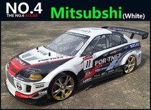 Large 1:10 RC Car High Speed Racing Car 2.4G Mitsubishi 4 Wheel Drive Radio Control Sport Drift Racing Car Model electronic toy