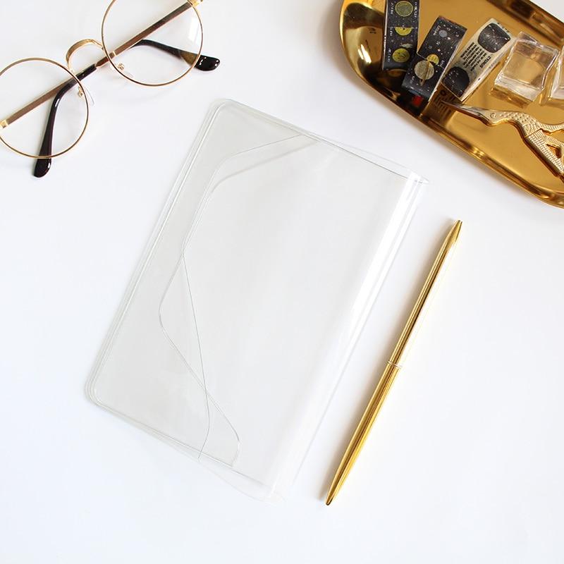Transparent PVC For A5 Journal Cover 1 Piece