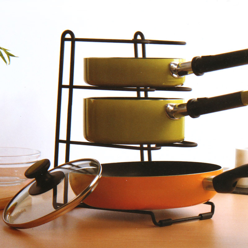 Stainless Steel Pot Rack Multilayer Pot Holder Adjustable Rack Kitchen Storage Drain Rack Shelf Cutting Board StorageTool