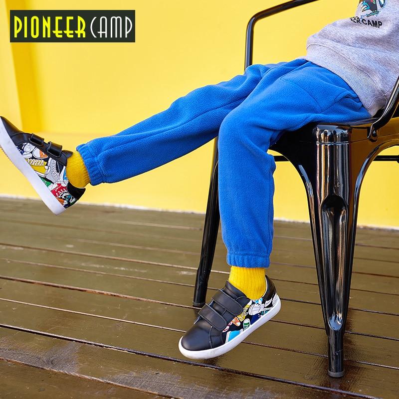 Pioneer Kampı Çocuklar Yeni ilkbahar / Sonbahar 4-14Y çocuk harem - Çocuk Giyim