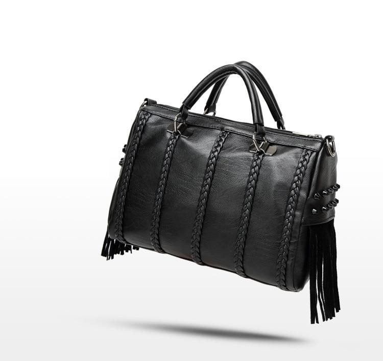 Bags For Women Female Casual Large Totes Bag Ladies Shoulder Handbags Hobo Motocycle Messenger Leather Bag
