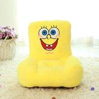 New Plush Laughing SpongeBob Sofa Toy Creative Stuffed SpongeBob Sofa Tatami Gift About 55x50cm