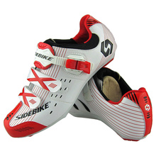 2017 Road Bike Shoes SIDEBIKE Cycling Bicycle Shoes Men's Breathable Bike Bicycle Athletic Shoes Red/Yellow/White/ Blue Sneaker