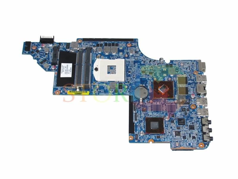 NOKOTION for hp pavilion DV6 DV6-6000 laptop motherboard 659150-001 HM65 HD6490M DDR3 665347 001 for hp dv6t 6c00 notebook dv6t 6b00 notebook pavilion dv6 dv6 6000 laptop motherboard pga989 ddr3 hm65 hd6490 1g