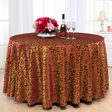 High-grade Hotel tablecloth Fabric European-style Restaurant tablecloths Living room Square table Round Table cloth