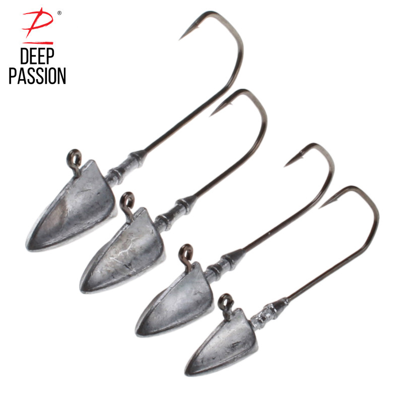 DEEP PASSION 5PC Fishing Lure Set Fat Artificial Bait Fishing Gear Lures Crankbaits Integrated Bait Mini Fishing Hard Lure Kit