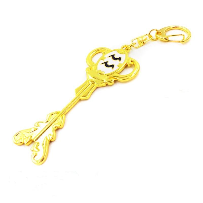 Аниме Сказочный хвост косплей Lucy Небесный Зодиак Дух Ворота брелок кулон брелок для ключей «Созвездие» брелок