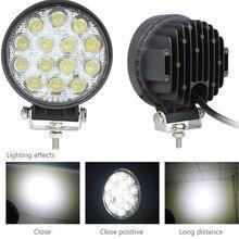 42 Вт 12 В-24 В фар светодиодный свет работы Spot/потока светодиодный Offroad свет лампы Worklight для off road ATV автомобиля мотоцикла Грузовик 2028