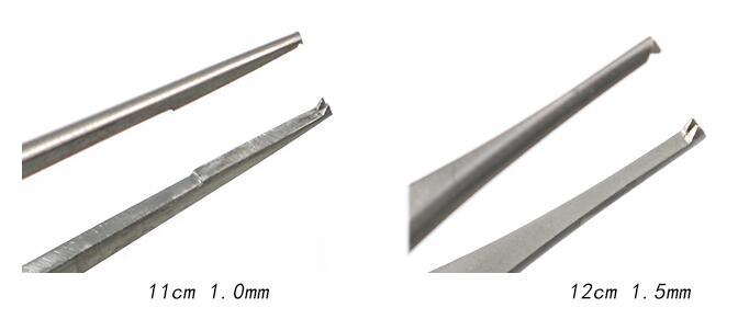 Oftálmica equipamentos de microscopia, pinças, pálpebra dupla
