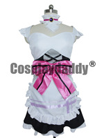 Love Live Cosplay Toujou Nozomi Cosplay White Girls Maid Cosplay Costume