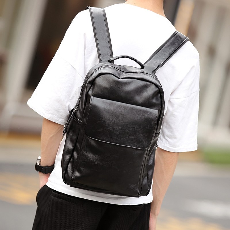 Tidog Simple fashion han edition cortex business tide backpack male students traveling backpackTidog Simple fashion han edition cortex business tide backpack male students traveling backpack