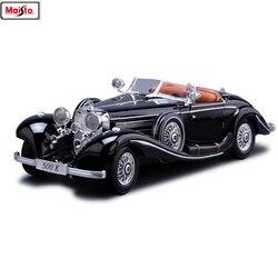 Maisto 1:18 Mercedes klassische auto Legierung Retro Auto Modell Klassische Auto Modell Auto Dekoration Sammlung geschenk