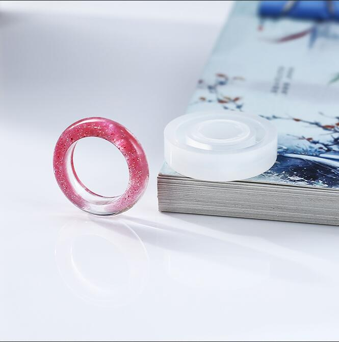 3pcs Silicone DIY Ring Mold Making Resin Casting Jewelry Rings Mould Crafts