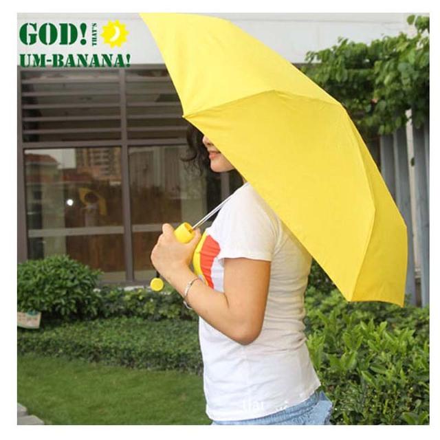 Banana Paraguas Rain and Parasol Cute Umbrella For Moschino Women As Novelty Kids Gifts Protection Windproof Folding Umbrellas