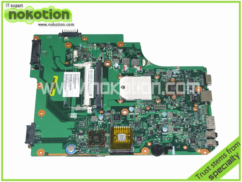 NOKOTION PN 1310A2250808 SPS V000185540 Laptop motherboard for TOSHIBA SATELLITE L505D HD4200 DDR2 Mainboard warranty 60 days k000087420 motherboard for toshiba satellite l500d l505d la 4971p l19 kswae page 7