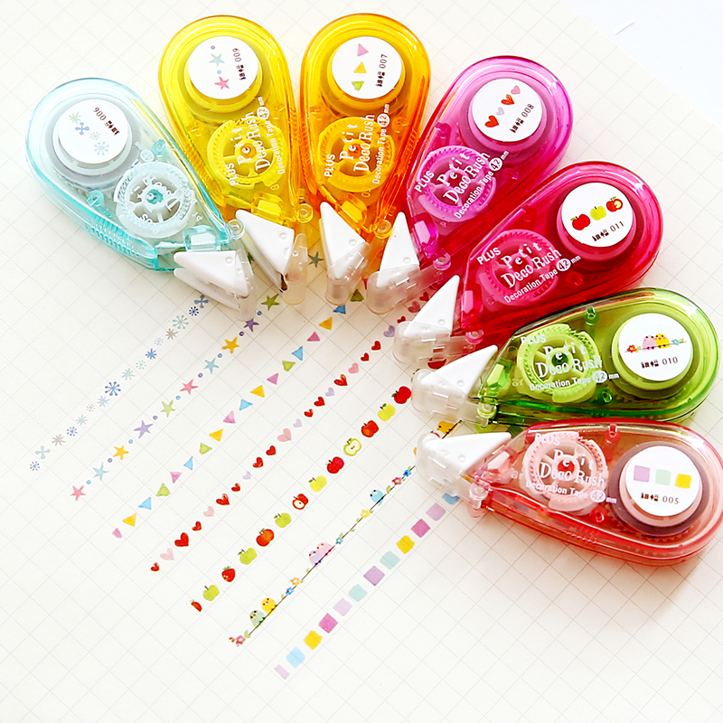 Decorative Correction Tape Fita Cetim Deco Rush Papeleria Cinta Correctora Kawaii School Materials