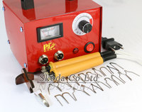 Newest Pyrography Machine Dual Interface 2 Pcs Pyrography Pen 21 Pcs Iron Tips For Wood Leather
