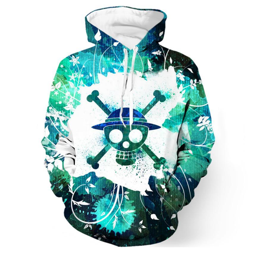 2017 new fashion Cool sweatshirt Hoodies Men women 3D print One Piece Hot Sale Tee hot Style Streetwear Long sleeve clothing