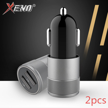 Car Charge 5V/2.1A USB Charger For iPhone 2 Ports Type-C Mobile Phone for Samsung Xiaomi Car-Charger
