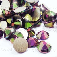 Ss6 Genuine Swarovski Elements Black Diamond 215 432 Pcs Iron On Hotfix Rhinestones