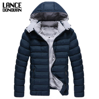 Autumn And Winter Fashion Personality Male Slim With A Hood Wadded Jacket Outerwear 52368 P90