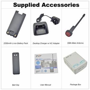Image 5 - TYT MD 2017 IP67 Walkie Talkie DMR Digital Radio Dual Band 144/430MHz UV transceiver MD2017 + USB cable