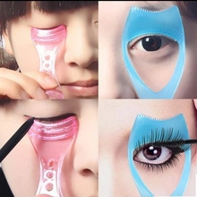 1 PCS Eyelash Curler Plastic Mascara Guide Applicator Lash Guard Curling Comb for Lashes  Curvex Encrespador de Pestanas