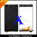 Free Shipping + Tracking No.+ Full set glue 100% tested original For Sony Xperia Z5 E6603 E6653 LCD Screen Assembly -white/black
