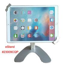 Para iPad pro seguro de bloqueo de escritorio soporte de exhibición en la feria mesa de soporte para universal de 9.7 a 12.9 pulgadas de la tableta de Superficie