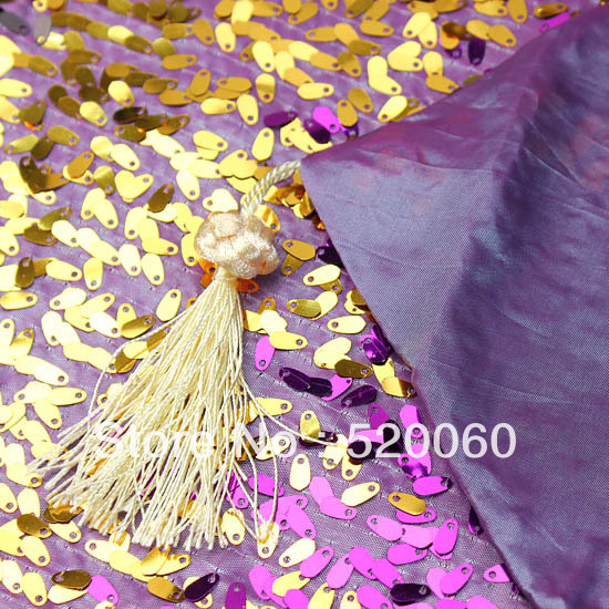 Shiny Purple Gold Black Glitter Silver Oval Sequins Tassel Luxury Table  Runner Table Flag Cloth Dining Outdoor Home Decorations In Table Runners  From Home ...
