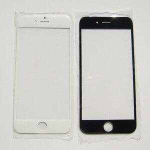 Image 1 - Przednia zewnętrzna wymienna soczewka szklana części do iPhone 7 5 5S 4 4S 6 6S Plus naprawa ekranu dotykowego