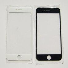 Ön Dış cam lens Yedek Parçalar iPhone 7 5 5 S 4 4 S 6 6 S Artı dokunmatik ekran tamir
