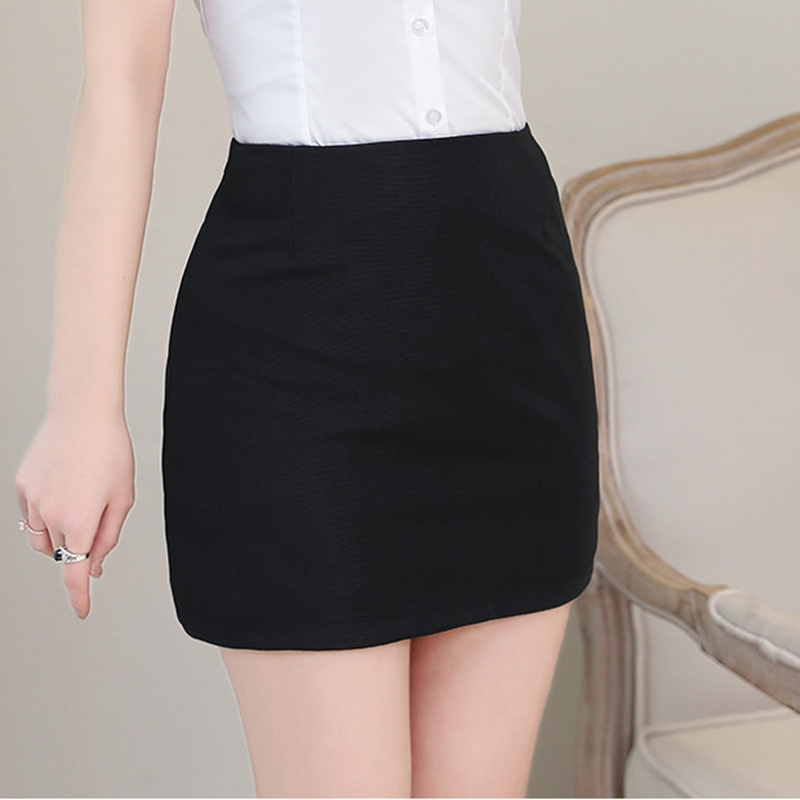 Ol Skirt Women Skirts Womens Elegant Women Black Skirt Plus Size Women High Waist Bodycon Mini Skirts 4xl Faldas Mujer Moda 2019