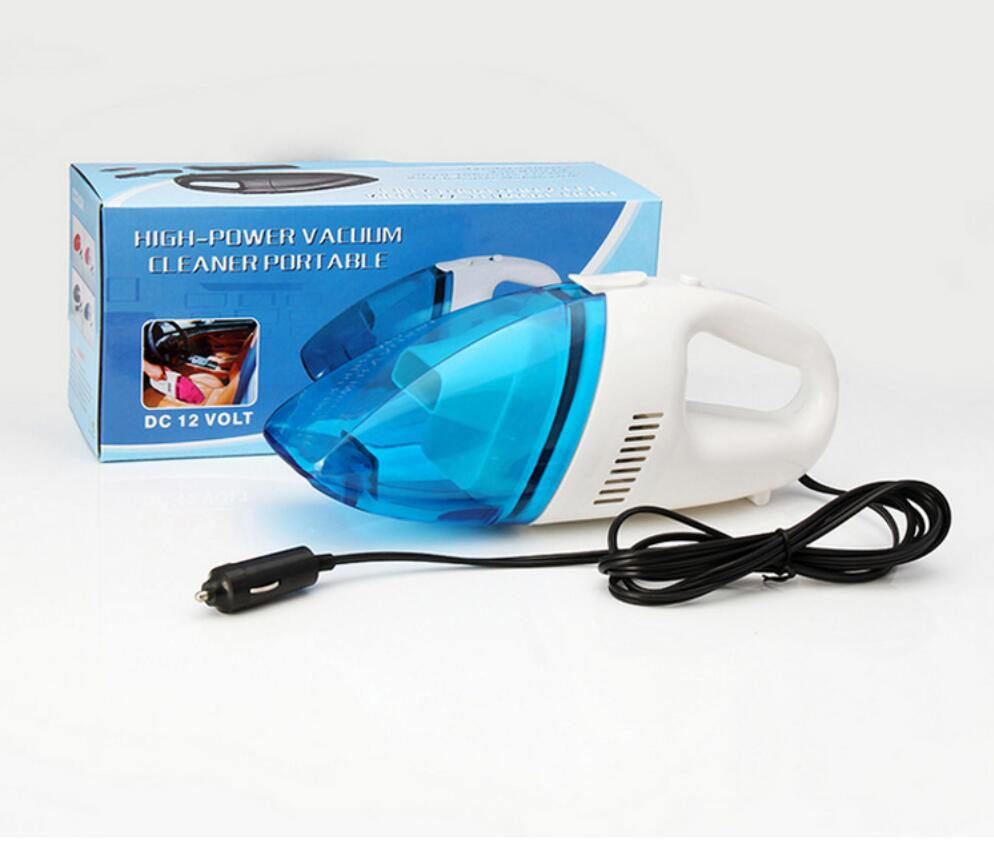 Mini 12V 60W Hand Held Wet Dry Bagless Car Auto Vacuum Cleaner multifunction Powerful Suction Rechargeable Dust Buster