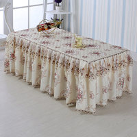 Coffee table dust cover garden fabric lace tablecloth tea table bedside cabinet cover