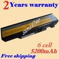 Jigu bateria do portátil para lenovo ideapad y450 y450a y450g y550 y550a y550p 55y2054 l08l6d13 l08s6d13 l08o6d13batteria