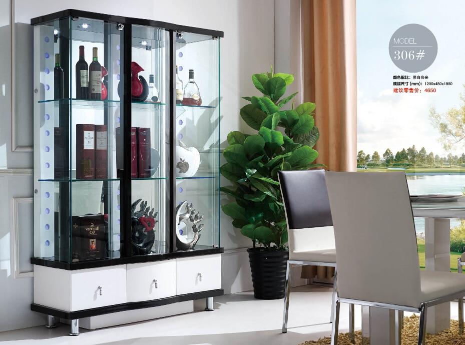 306 Woonkamer Meubels Display Showcase Wijn Kast Woonkamer