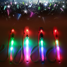 Удобная пластиковая светящаяся палочка, красивая мигающая Складная модная палка-светильник, Прямая поставка