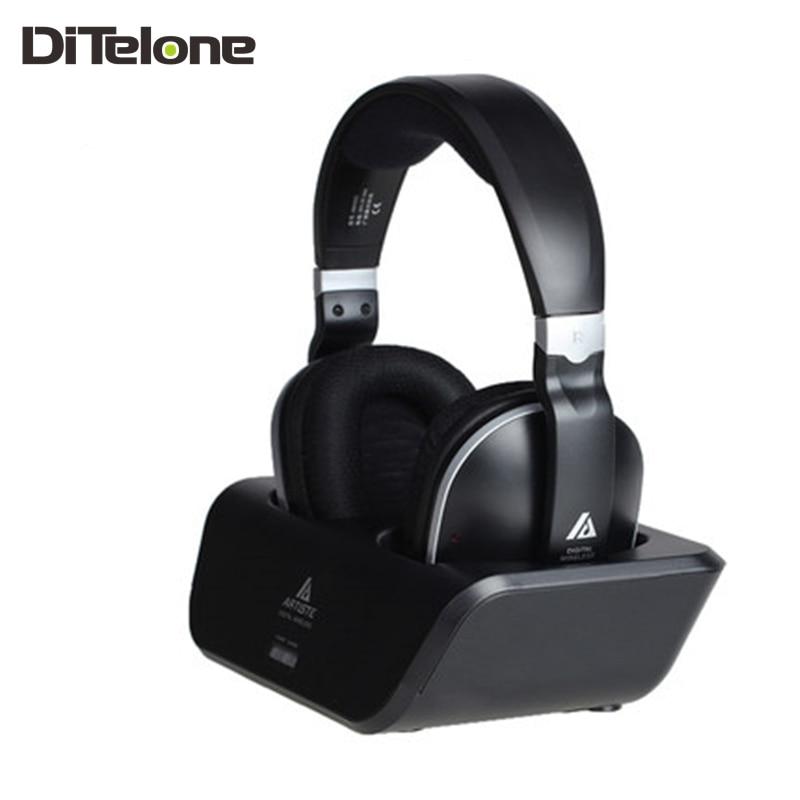bilder für Artiste arkon adh300 kopfhörer wiederaufladbare drahtlose stirnbänder für tv hifi kopfhörer lautstärkeregler 2,4g sender