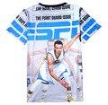 2017 New Teen Cloth T Shirt NBA All Star Boys 3d T Shirt Curry James Kobe Durant Harden Warriors Children T Shirt for Boys Girls