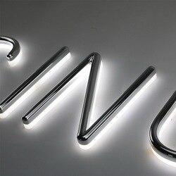 Изготовленный на заказ акриловый пластиковый светодиодный неоновый свет буквы пивные знаки