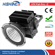 (5pcs/lot0Explosion-proof 500w led projector lamp Bridgelux  Meanwell High Purity Aluminum Reflectors