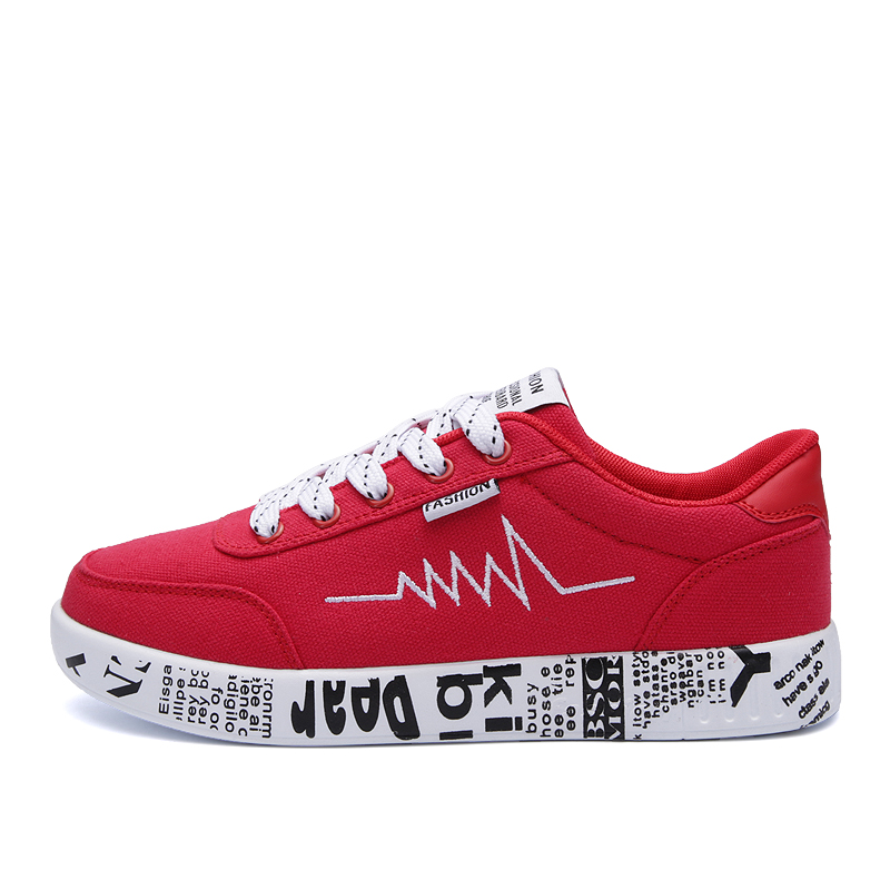 Shoes Women Platform Sneakers Graffiti Flats Ladies Lace-up Casual Shoes Breathable Femme Walking Canvas Shoes e lov women casual walking shoes graffiti aries horoscope canvas shoe low top flat oxford shoes for couples lovers