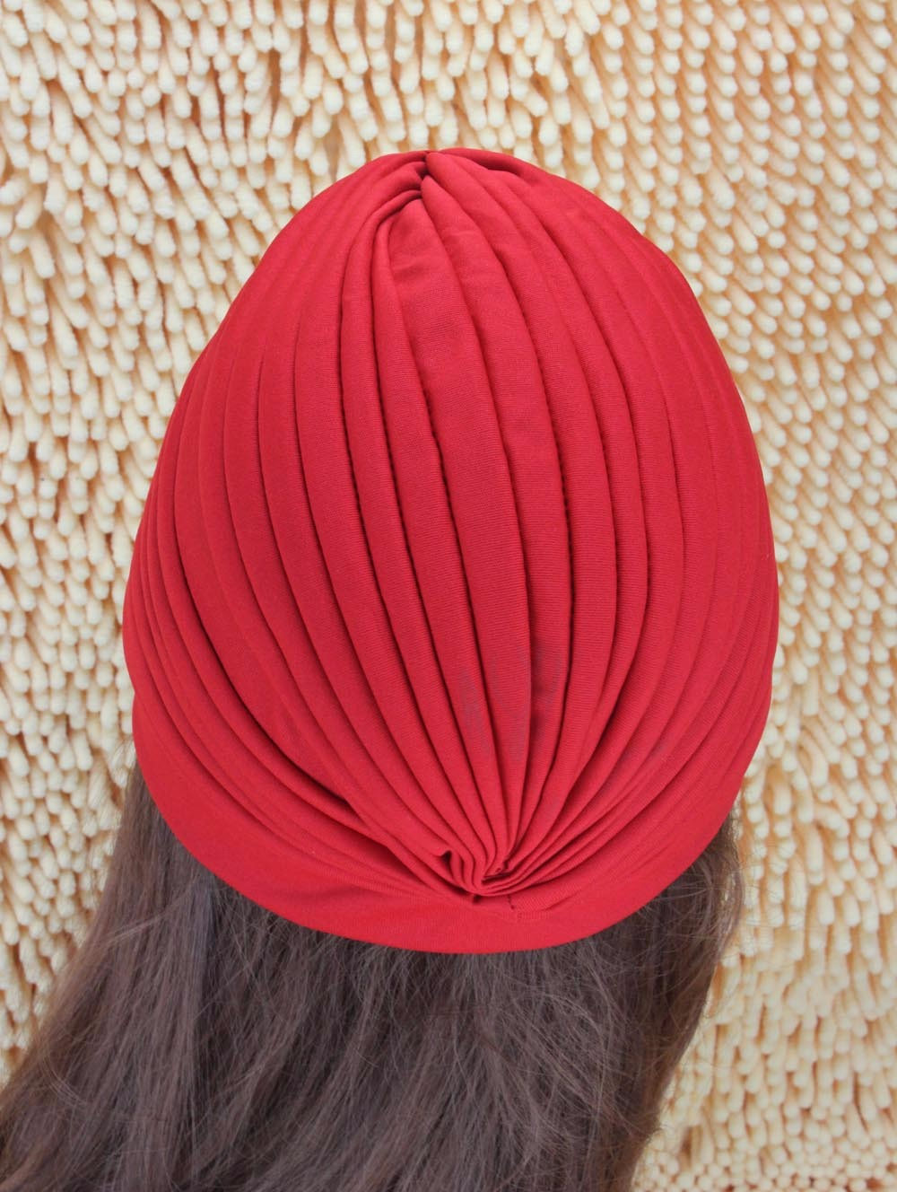 2016 New Fashion Women Turban Hat Bohemia 21 Solid Color Fold Beanies Female Simple Autumn Bonnet Indian Turban Hats For Women (6)